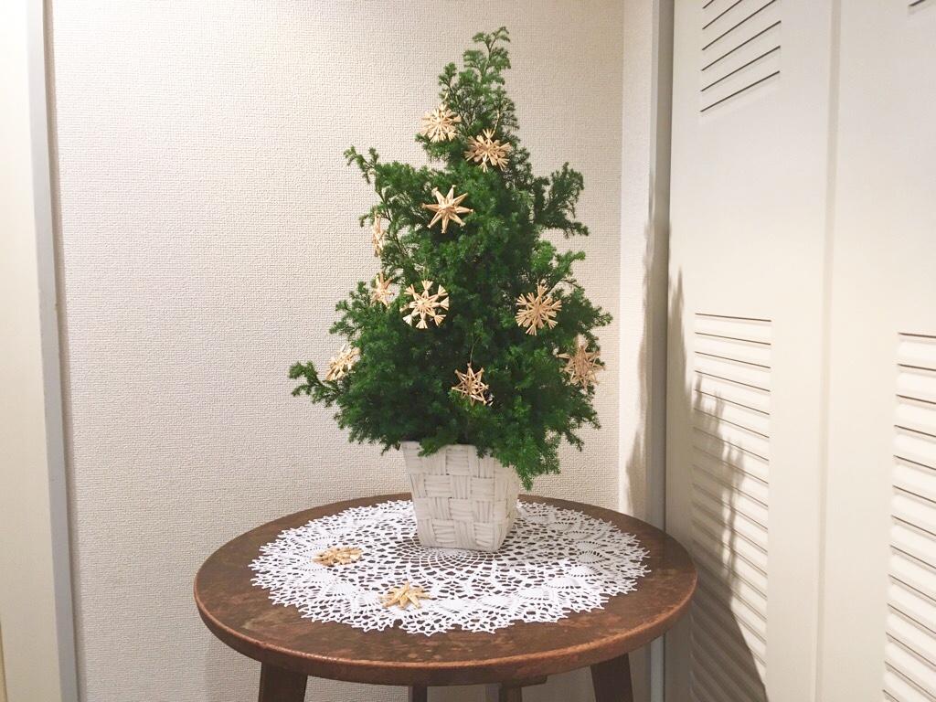 手作りのクリスマスツリー&北欧ストローオーナメント - トモリエ